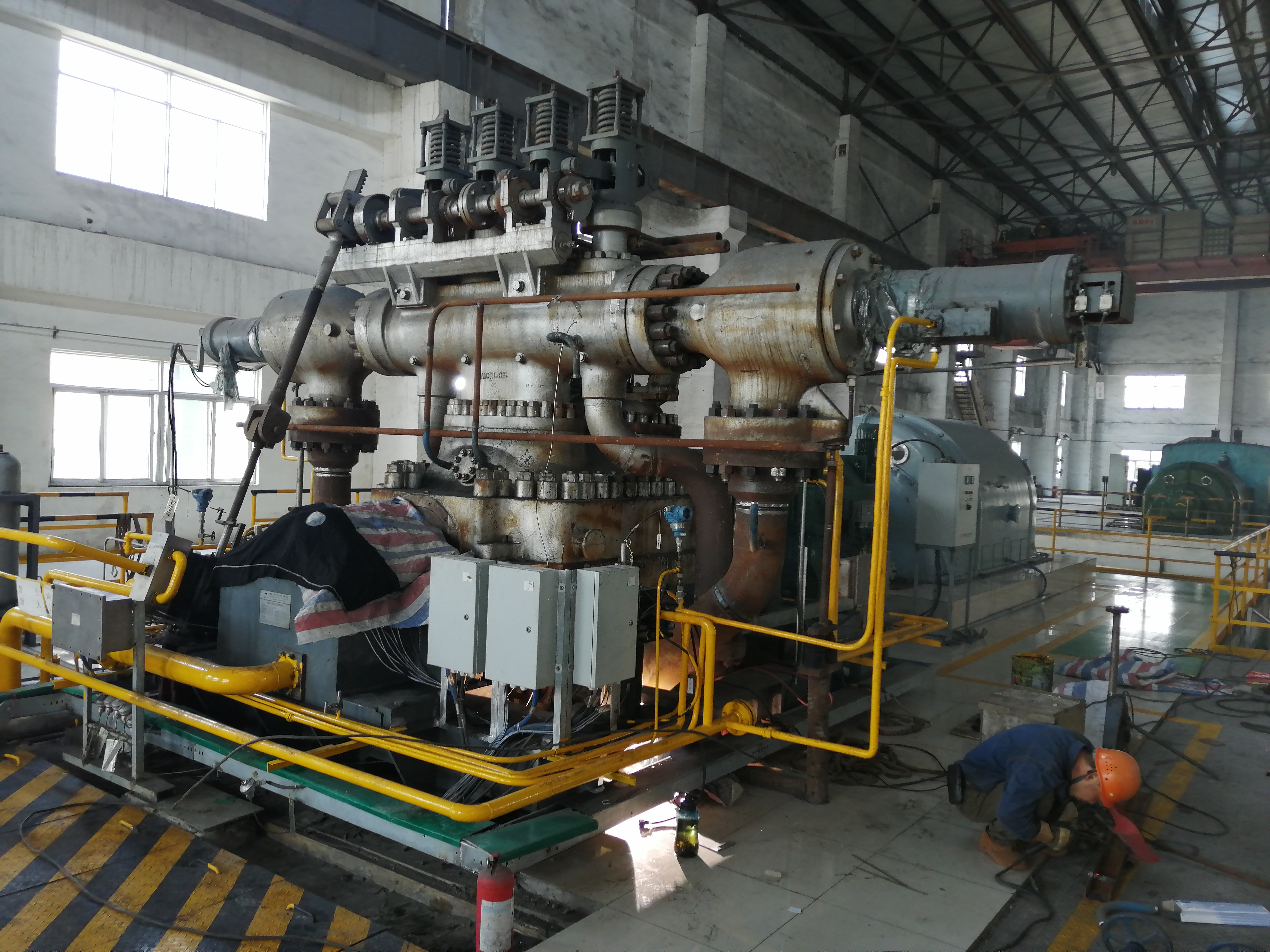 Extraction turbine