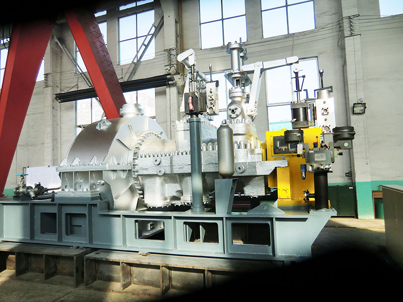 Extraction steam turbine
